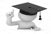 depositphotos 35214387 stock photo attention graduate points a finger